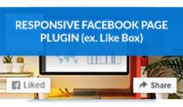 Responsive Facebook Page Plugin / Responsive Fac..
