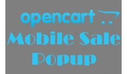 Opencart Mobile Sale Popup (Vqmod)