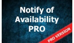 Notify of availability  PRO
