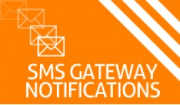 SMS Gateway Notifications