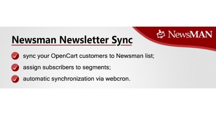 Newsman Newsletter Sync