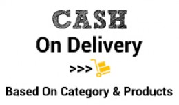 Cash on delivery based on category and product i..