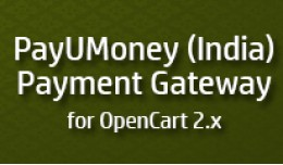 PayUMoney India for OpenCart
