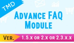 TMD Advance FAQ Module (1.5.x and 2.x )