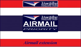Thailand Post: Airmail for OC 2.x
