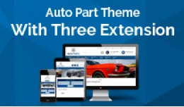 Auto Part Theme with Make Model Year filter exte..