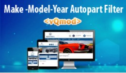 Make Model Year Engine autopart filter extension