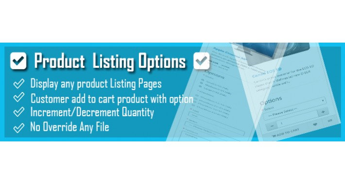 Product Listing Option