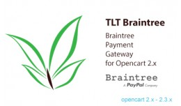 TLT Braintree Payments for Opencart 2.x