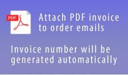 PDF Invoice With Auto Invoice Number Generator