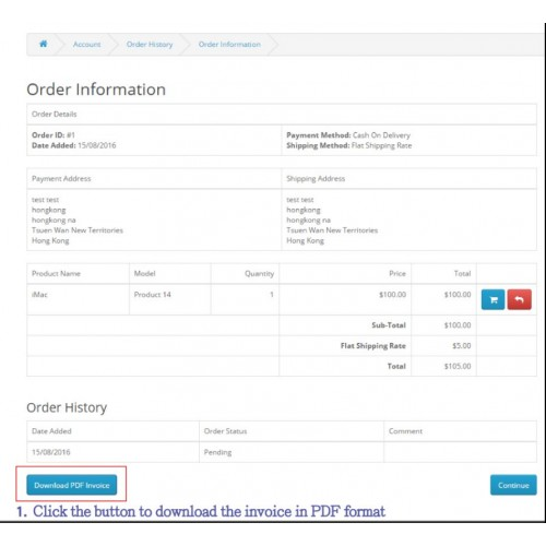 Do The Clients Often Ask For Getting An E Invoice Or Printing An Invoice  For Their Orders?  Copy Of An Invoice