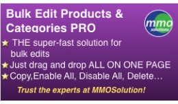 Bulk Edit Products & Categories Tool PRO