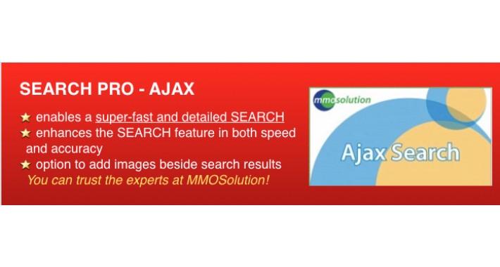 SEARCH PRO (Fast Ajaxsearch)