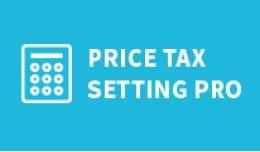 Product Tax Settings PRO