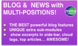 BLOG and NEWS with multi-positions! - Opencart 2.x