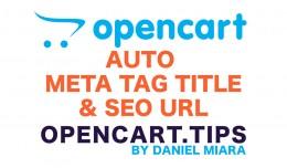 Auto Meta Tag Title and Seo URL ✯✯✯