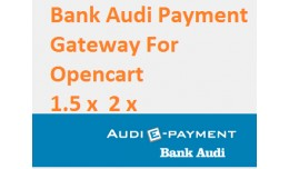 Bank Audi E-Payments Gateway Opencart