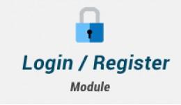 Login - register box : Allow customers to login ..