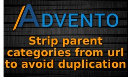 Strip parent categories from url to avoid duplic..