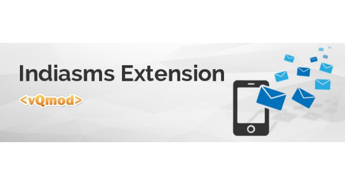 SMS notification extension - IndiaSMS