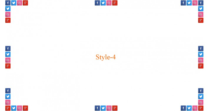 Social Link in Sidebar