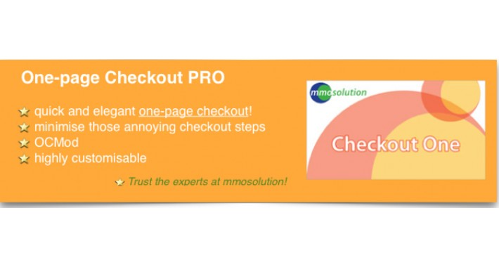 One-Page Checkout- quick & elegant