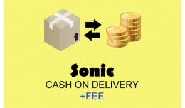 Sonic Cash on Delivery Fee Shipment