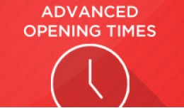 Advanced Opening Times with Public holidays
