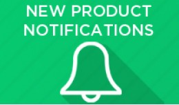 New Product Notification in Admin