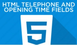 HTML Opening Times and Telephone