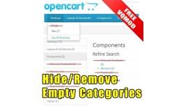 Hide / Remove Empty Categories for OC2 (vQMod)