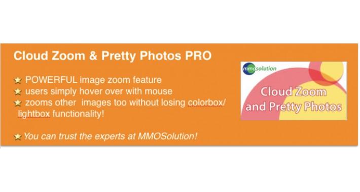 Cloud Zoom & Pretty Photos PRO