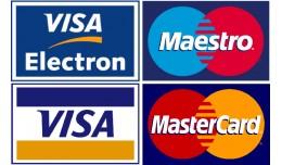 Platební brána pro online platbu kartou Master..