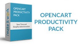 OpenCart Productivity Pack