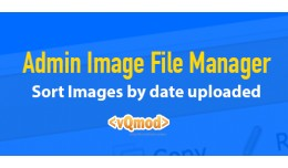 Admin Image Manager Sort By Date