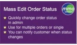 Mass Edit Order Status