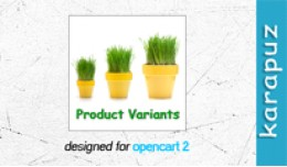 Product Variants (for Opencart 2)