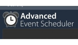 Advanced Event Scheduler