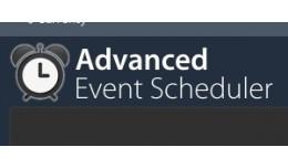 Advanced Event Scheduler