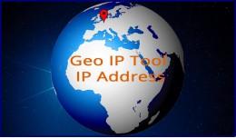 Geo IP Tool / IP Address