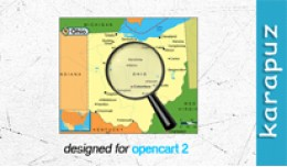 Extended Zones for Opencart 2