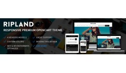 Ripland - Responsive Opencart Theme