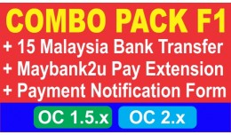 Combo Pack F1: Malaysia Bank Transfer + Payment ..