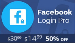 Facebook Login PRO - Anywhere in Your Store -  O..