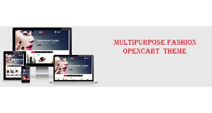 a Cosmos Opencart Cosmetics Theme