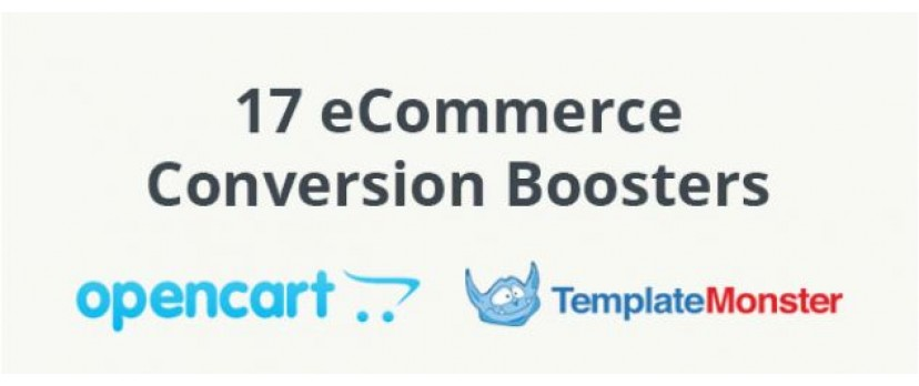 17 eCommerce Conversion Boosters (Infographic)