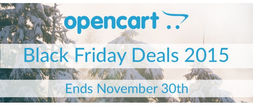 OpenCart Black Friday Deals: Available for 1 Week Only