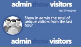 Admin Show Visitors