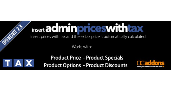 Admin Insert Prices With tax
