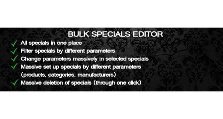 Bulk Specials Editor (OC 1.5x)